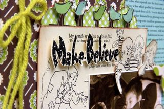 Make believe close-up title