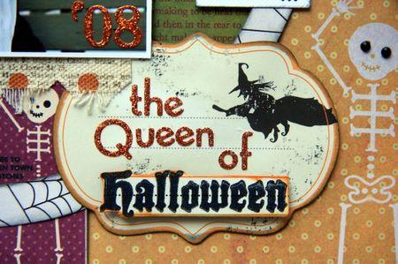 Queen of halloween close-up 3