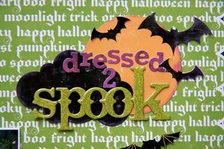 Dressed 2 spook title close-up