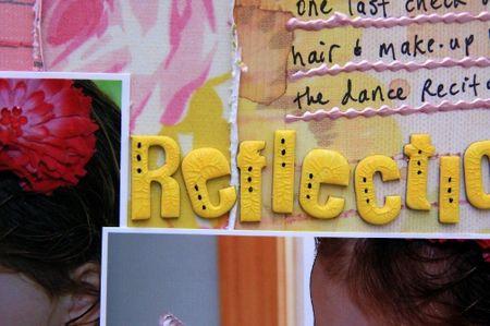 Reflection title close-up RAH DT