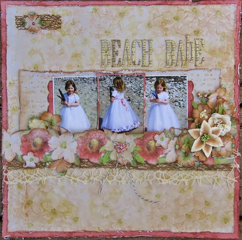 Beach Babe for Petaloo May Arts Blog Hop