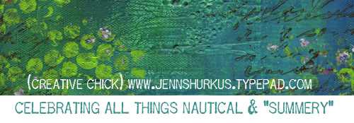 Jenn's blog header for July